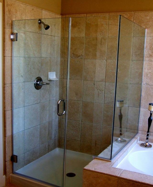 Стеклянный душ своими руками